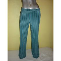 Pantalon Pijama Marca Old Navy Color Verde Talla Mediana