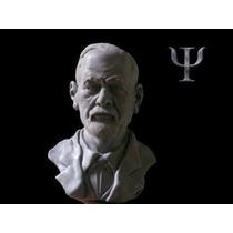 Sigmund Freud Figura En Resina. 16 Cm De Alto