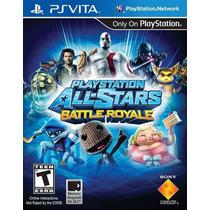 Play Station All-star Battle Royale Ps Vita Nuevo Citygame
