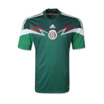 Jersey Selección México Color Verde Adidas Local Playera
