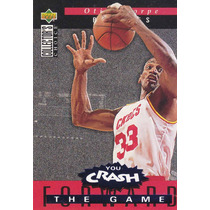 1994-95 Choice Crash The Game Rebounds Otis Thorpe Rockets