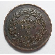 1 Centavo 1894 Mo República Mexicana