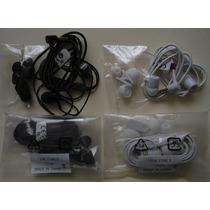 Manos Libres Sony Xperia Mh-750 3.5mm Blanco Y Negro