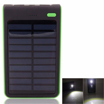 Caragador Solar Power Bank 8000 Android S7 Bateria Portatil