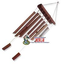 Wind Chimes De Lluvia - Hecho En Bambu Armoniza Y Purifica