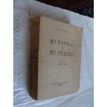 Libro Antiguo Año 1946 , Mi Patria Y Mi Pueblo , Lin Yutang
