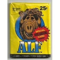 Alf: Sobre De Estampas Coleccionables Sin Abrir Desde 1987
