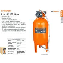 Bomba Hidroneumatica De 1-1/2 Hp 150 Litros Truper Dizome