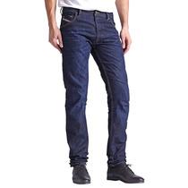 Diesel Pantalones Jeans Italianos Skinny Entubados Rectos