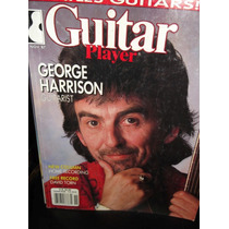Guitar Player George Harrison Revista Ingles
