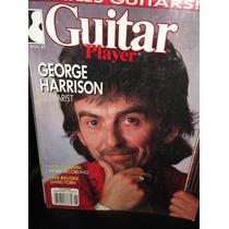 Guitar Player George Harrison Revista Ingles