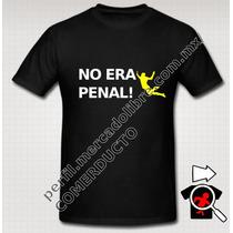 Playera No Era Penal Brazil 2014 Seleccion Mexicana Penales