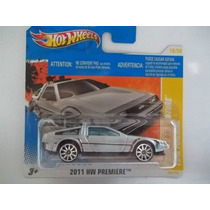 Back To The Future Time Machine 2011 Hot Wheels Premiere