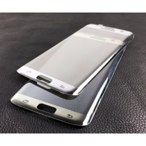 Protector Pantalla Cristal Samsung Galaxy S7 Edge Plata