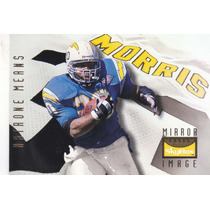 1995 Premium Natrone Means Chargers Bam Morris Steelers