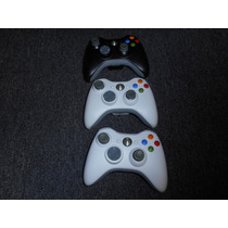 Controles Inalambricos Xbox 360 En Blanco O Negro