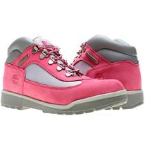 Mujer Botas Timberland Field Boot Pink Nubuk Mod 3390r Hm4
