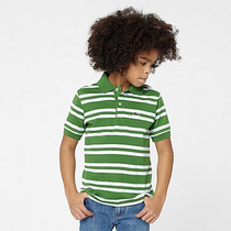 Camisa Lacoste Original Niño Jersey Polo Talla 10