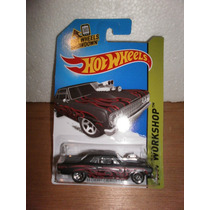 Hot Wheels 64 Chevy Chevelle Ss Negro 239/250 2014
