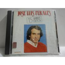 Jose Luis Perales. 15 Grandes Exitos. 1988