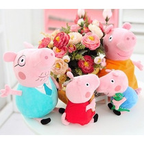 Familia Peppa Pig Peluche Lote De 4 Piezas Oferta