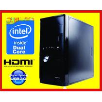 Compu Dual Core 5.2 Ghz, 2 Ram, Dd 80 Gb, Con Hdmi, Nueva