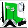 Kit Fotográfico Softbox Set Fotografía Estudio Iluminación