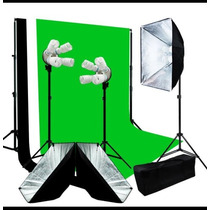 Kit Fotográfico Softbox Set Fotografía Estudio Iluminación