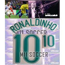 Estampado Brasil Local 206, #10 Ronaldinho $149