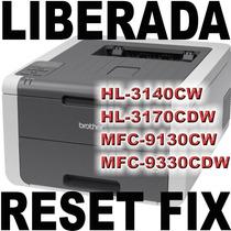 Reset Brother Hl-3140cw Hl-3170cdw Mfc-9130cw Mfc-9330cdw