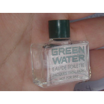 Perfume Miniatura Coleccion Jacques Fath Green Water 3.5 Ml