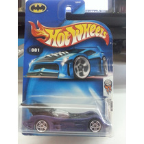 Hotwheels 2004 First Edition Batmobile De Super Coleccion