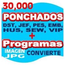 Ponchados Bordados, Ponchados , 30000 Ponchados Pes Brother