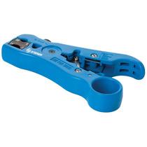 Pinza Para Pelar Cable Plano, Coaxial Y Utp Rg6 Rg59