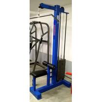 Polea Alta Dorsales 4x4 Marca: Guerra Fitness Equipment