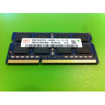 Memoria Laptop 4gb 2rx8 Pc3 12800s