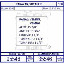 Radiador Dodge Caravan 2.5 / 3.0 / 3.3 Lts 1990 1991 1992