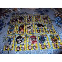 Llaveros Mascara D Luchadores Demon,guerrero,atlantis,wagner