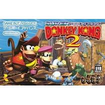 Super Donkey Kong 2 Gameboy Advance Japonesa