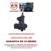 Caja Sin Fin Direccion Hidráulica Dodge Ram 50 1987-1989