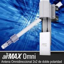 Antenas Ubiquiti Amo2g13 Antena Mimo 2x2 Omnidireccional 13d