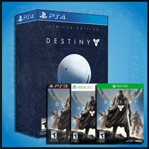 Destiny Limited Collector 360 - One - Ps3 Y Ps4 + Bonus! Vv4