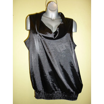 Blusa Marca Maurices Color Negro Extra Grande 2x
