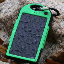 Cargador Solar 6000mah Powerbank Celular Tablet Mayoreo