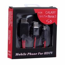 Cable Adaptador Mhl Microusb A Hdmi Samsung Galaxy