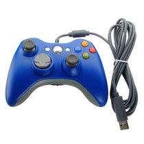 Azul Con Cable Usb Del Cojín Del Regulador Del Juego De Joyp