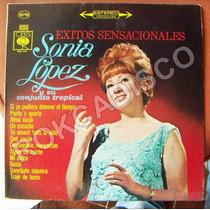 Bolero, Sonia Lopez Y Su Conjunto Tropical, Lp 12´,
