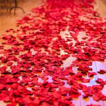 500 Pétalos De Rosa Artificial Para Decoracion Muy Realistas