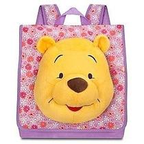 Mochila Disney Store Winnie De Pooh Original Mide 30 Cm