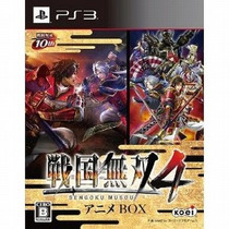 Samurai Warriors 4 Anime Box Ps3 Japones